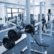 Gym equipment room — Stock Photo #1453162