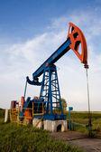 Oil pump jack — Zdjęcie stockowe