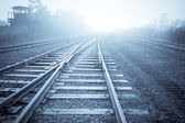 Old rail road — Stock Photo