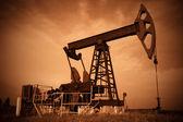 Jack de bomba de óleo. — Foto Stock