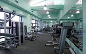 Gym equipment room — Stock Photo