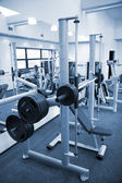Gym equipment room — 图库照片