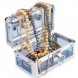 Box with jewelry — Stock Photo