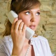 Woman calling — Stock Photo #2388825