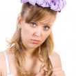 Stock Photo: Discontent girl
