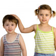 Brother and sister — Stock Photo #2389058