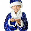 Little Santa — Stock Photo #2389091