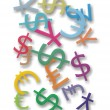 Money Symbols - Stock Photo