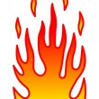 Stock Vector: Flame