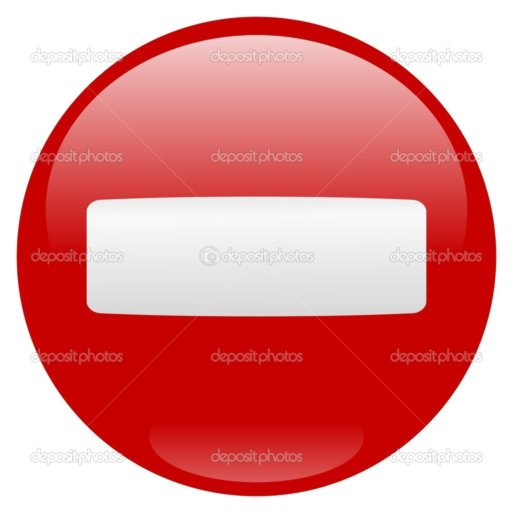 Stop sign icon over white background — Stock vektor #1689377