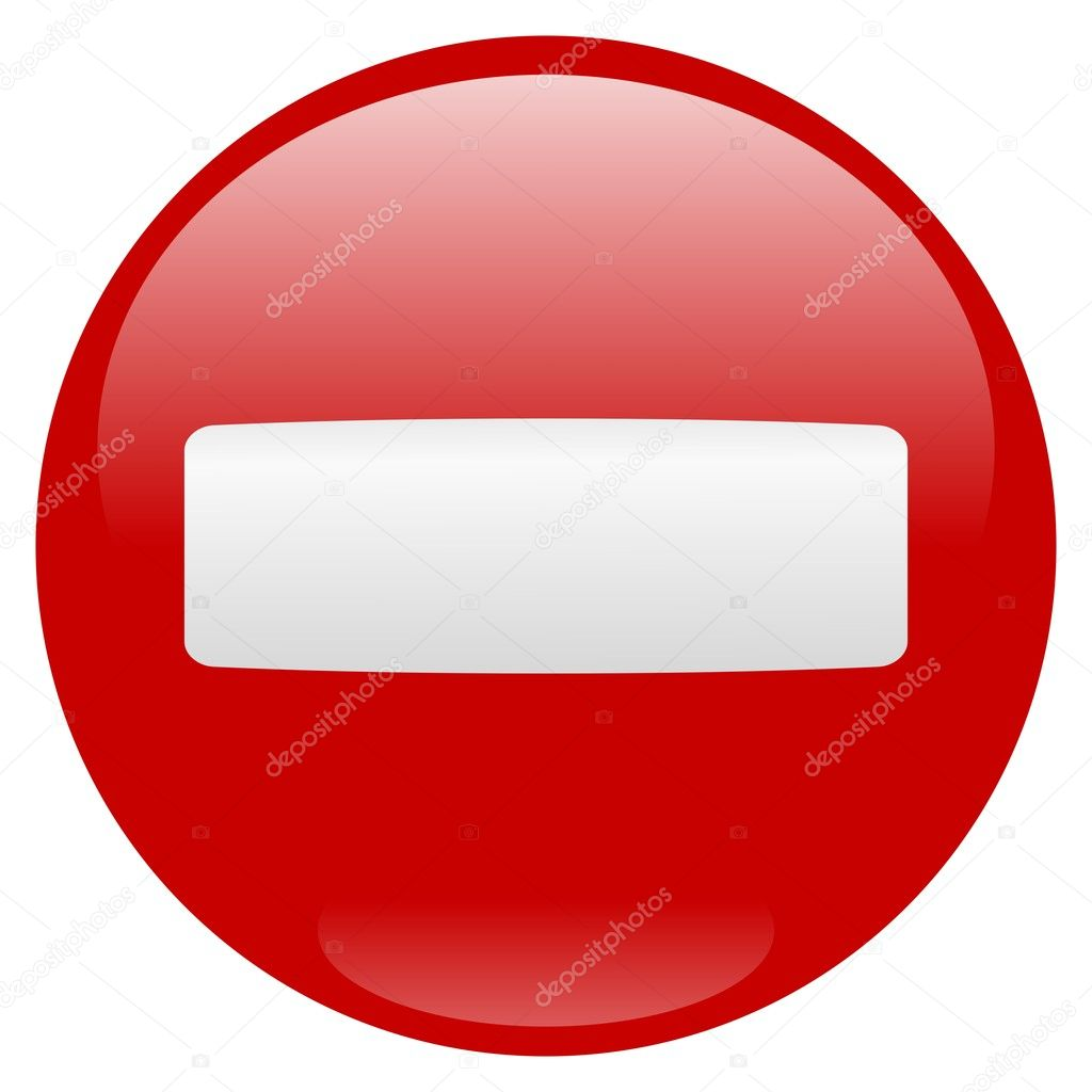 Stop sign icon over white background — Vettoriali Stock  #1689377