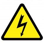 高電圧記号 — ストックベクタ