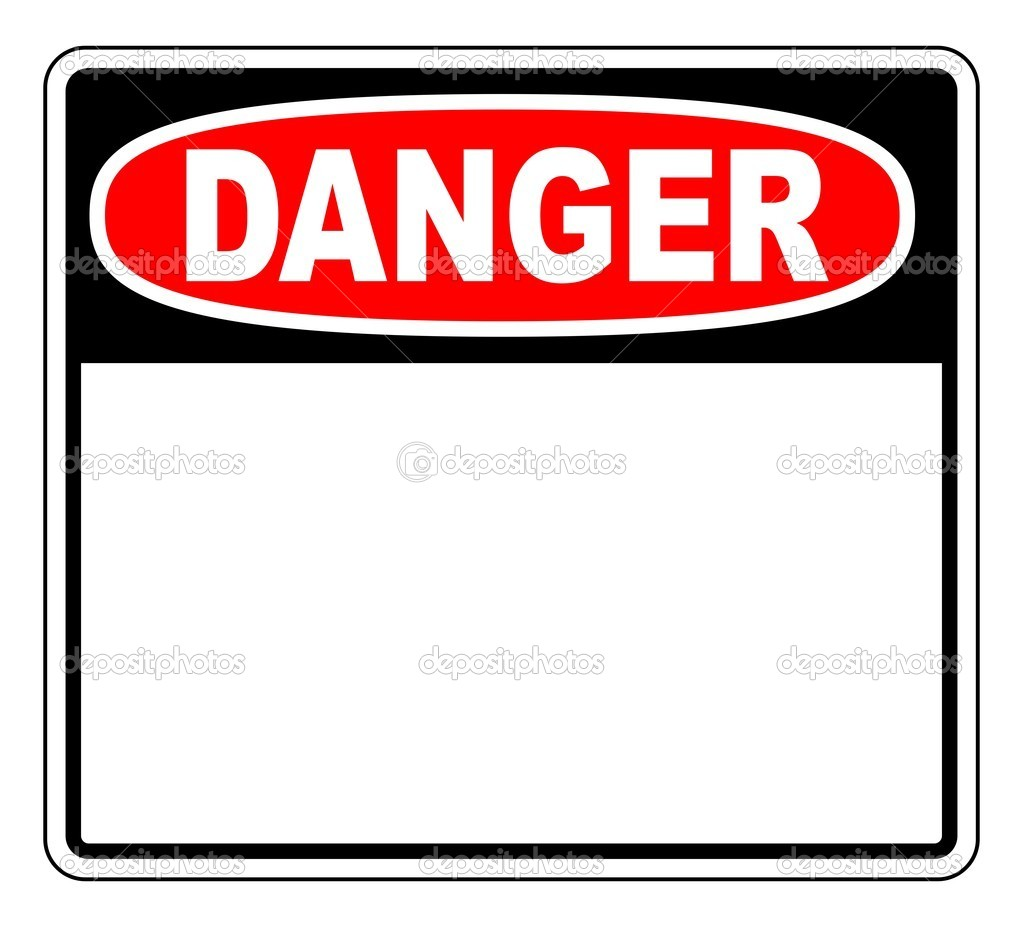 Danger blank sign stock vector okeen 1829116 for De signs