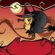 Royalty-Free Stock Imagen vectorial: Halloween witch