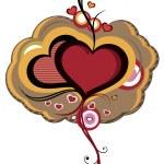 Heart life — Stock Vector