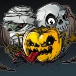 Halloween Monsters — Stock Vector #1844818