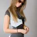 Long-haired girl — Stock Photo #2541693