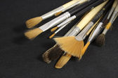Set of art brushes — Stock Photo