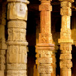 Carved pillars — Stock Photo