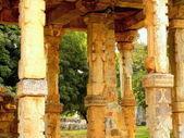 Pillared cloister — Stock Photo