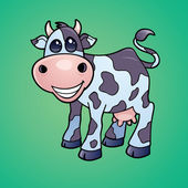 Dairy Cow Cartoon — Stock Vector