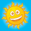 Royalty-Free Stock Vector Image: Happy Summer Sun