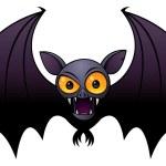 Halloween Vampire Bat — Stock Vector #1507498