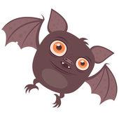 Cartoon Vampire Bat — Stock Vector