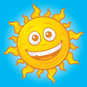 Happy Summer Sun — Stock Vector