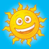 Happy Summer Sun — Stock Vector