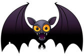 Halloween Vampire Bat — Stock Vector