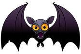 Halloween Vampire Bat — Stock Vector