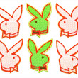 Six Hare green — Stock Photo
