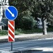 Stock Photo: Road sign