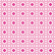Pink pattern — Stock Vector