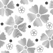 Seamless flowers pattern - Stock Vector