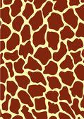 Giraffe texture — Stock Vector