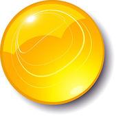 Vector shiny sphere — Stock Vector