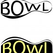 Vector bowling — Stock Vector #2518367