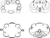 Vintage patterns for design — Stock Vector