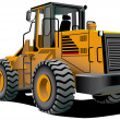 Bulldozer — Stock Vector