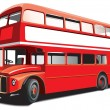 Royalty-Free Stock Vector Image: Double decker bus