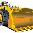 Stock Vector: Dozer
