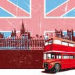 Royalty-Free Stock Imagen vectorial: English Style Poster