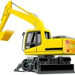 Excavator — Stock Vector #1467214