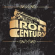 Royalty-Free Stock Vector Image: Iron century_golden