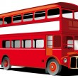London double decker bus - Stock Vector