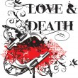 Royalty-Free Stock Vector Image: Love & Death