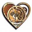 Royalty-Free Stock Imagem Vetorial: Mechanical Heart