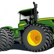 Royalty-Free Stock Vector Image: Tractor